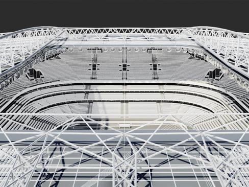 soccer stadium two 3d model 3ds max obj 127998