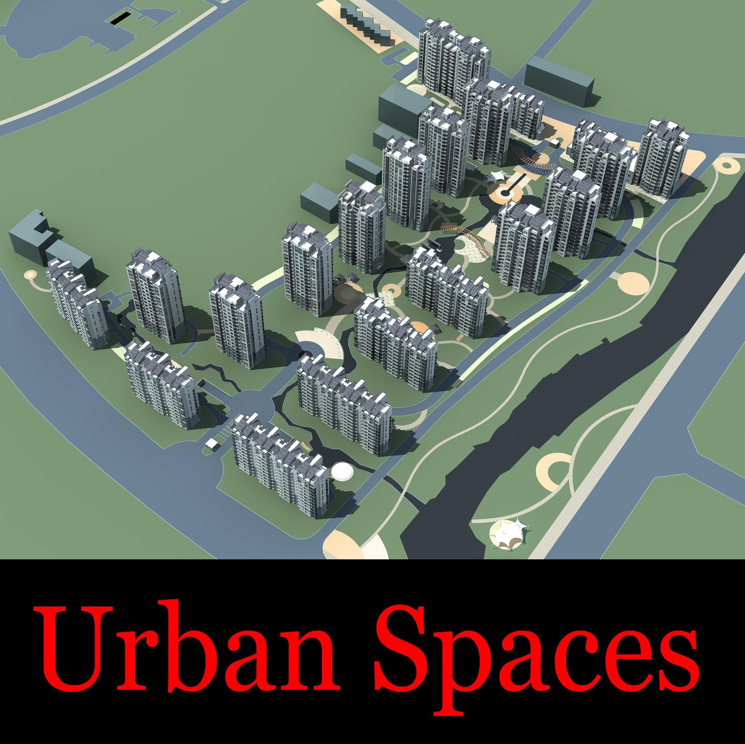 urban design 081 3d model max 121510