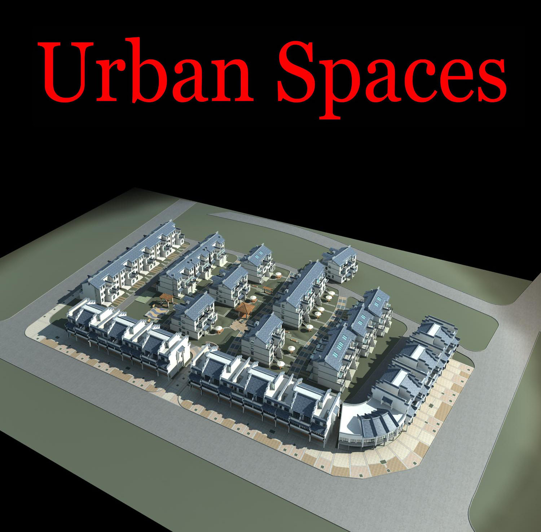 urban design 082 3d model max 121512