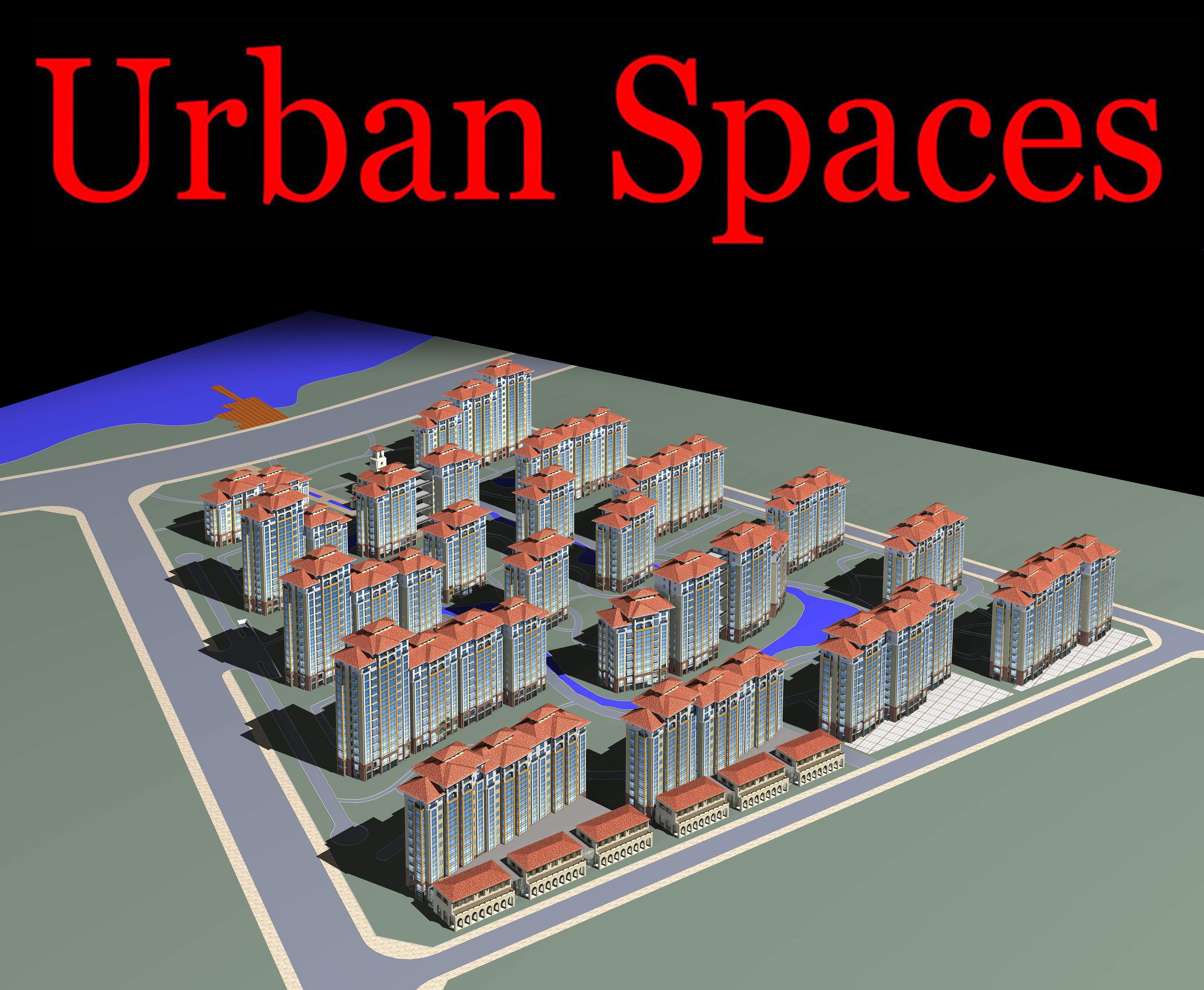 urban design 089 3d model max 121531