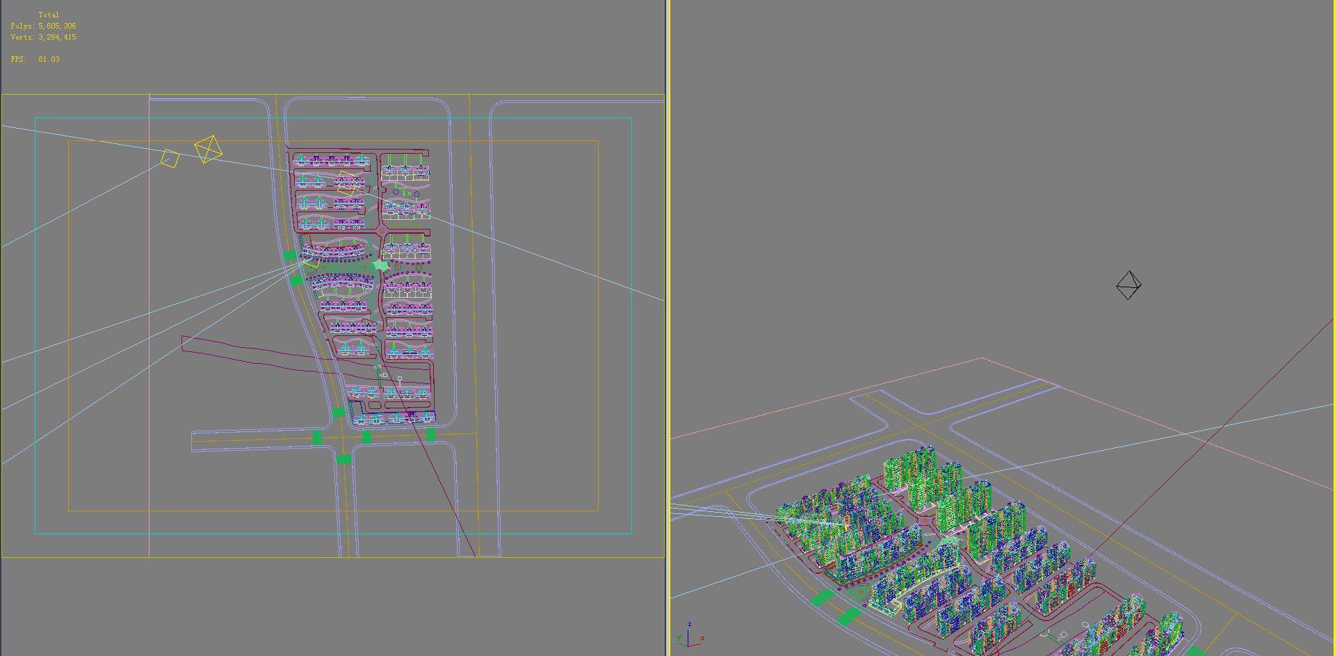 хот суурин газрын дизайн 095 3d загвар max psd 121484
