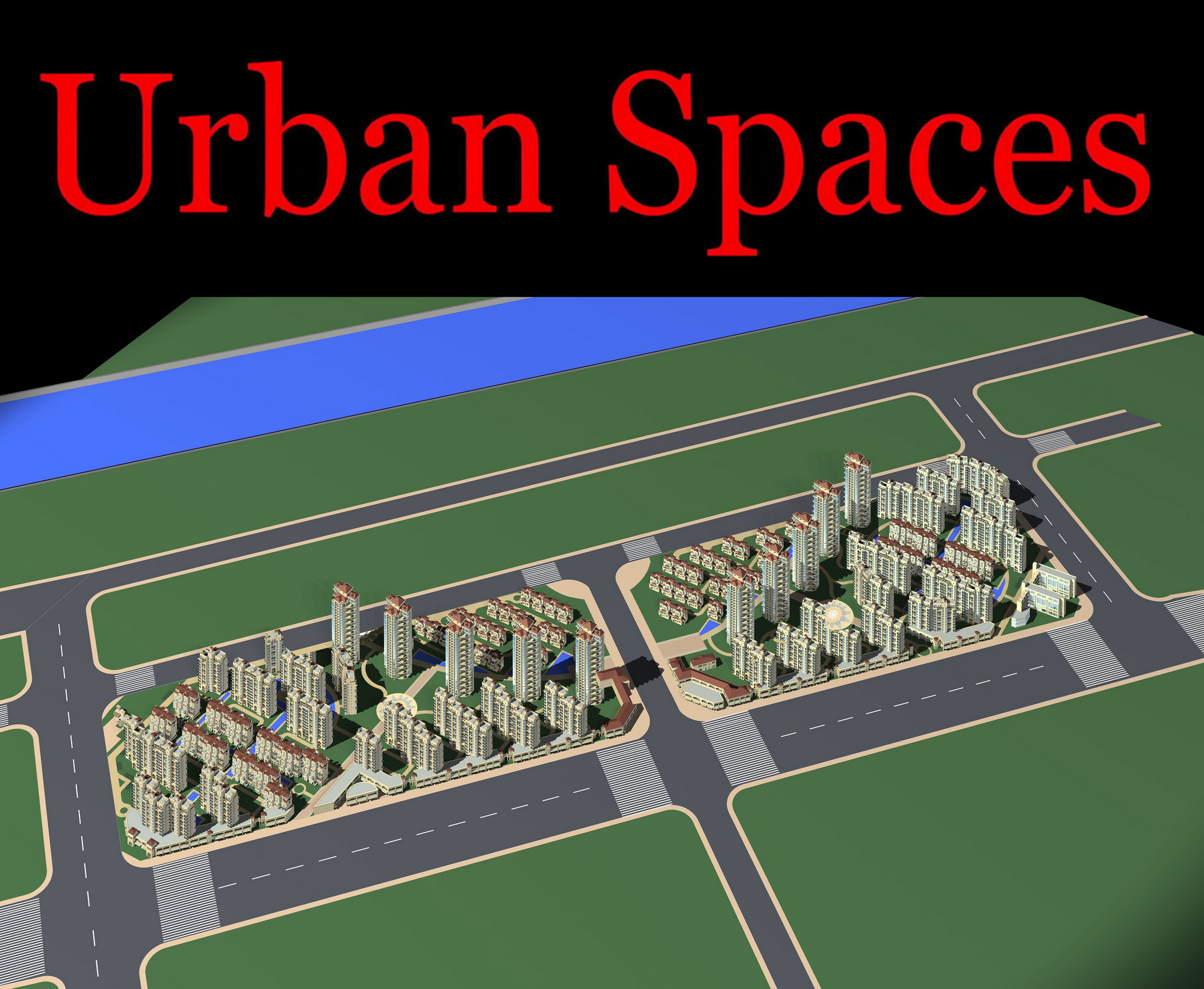 urban design 098 3d model max psd 121497