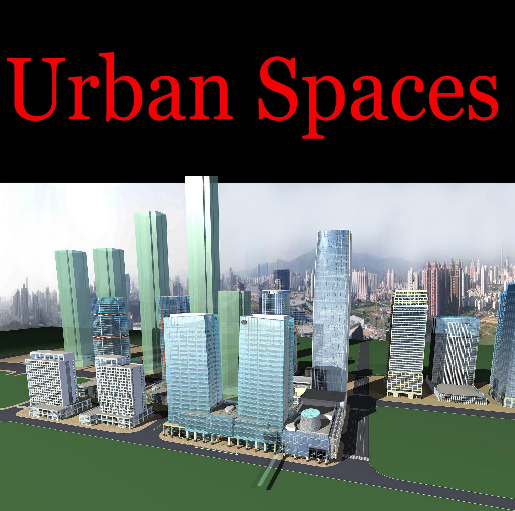 urban design 099 3d model max psd 121485