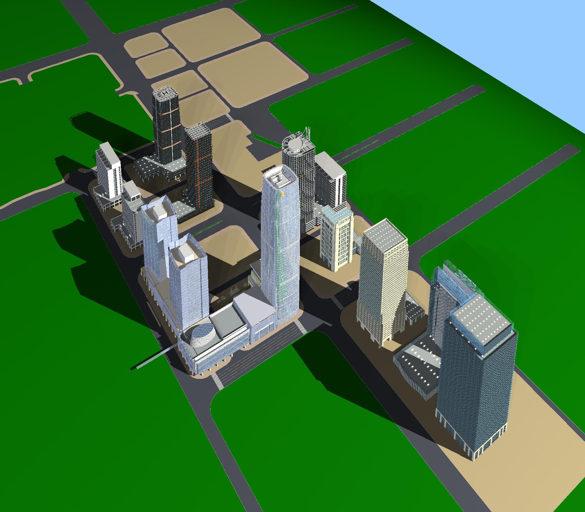 хот суурин газрын дизайн 099 3d загвар max psd 121487