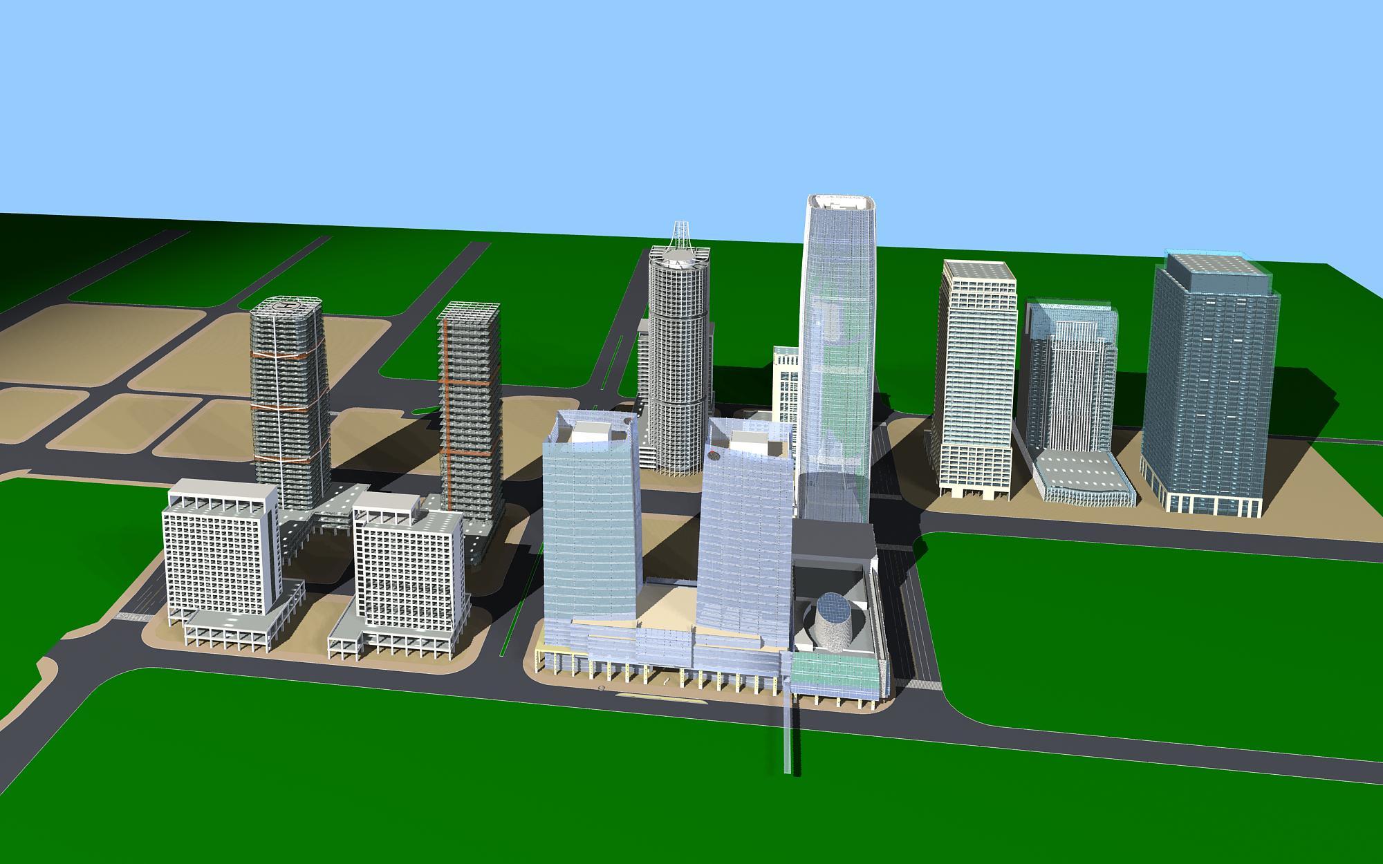 хот суурин газрын дизайн 099 3d загвар max psd 121488
