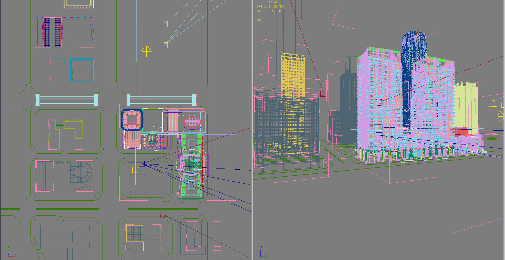 хот суурин газрын дизайн 099 3d загвар max psd 121491