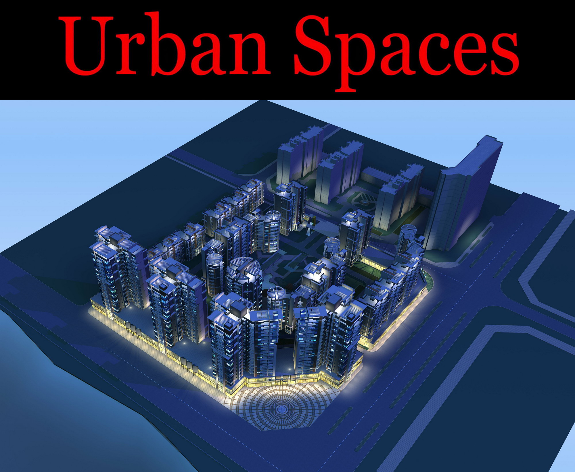 urban design 100 3d model max psd 121501