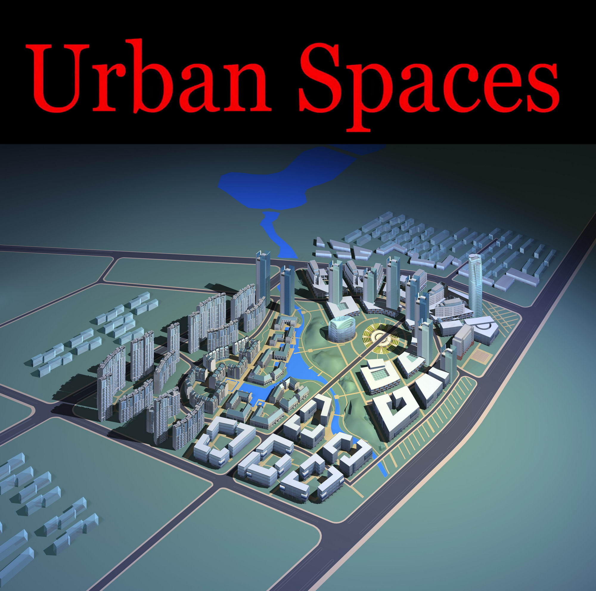 urban design 102 3d model max psd 121469