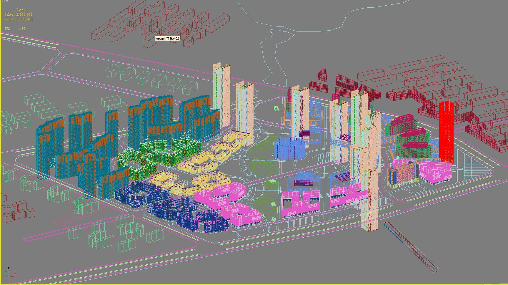 urbani dizajn 102 3d model max psd 121471