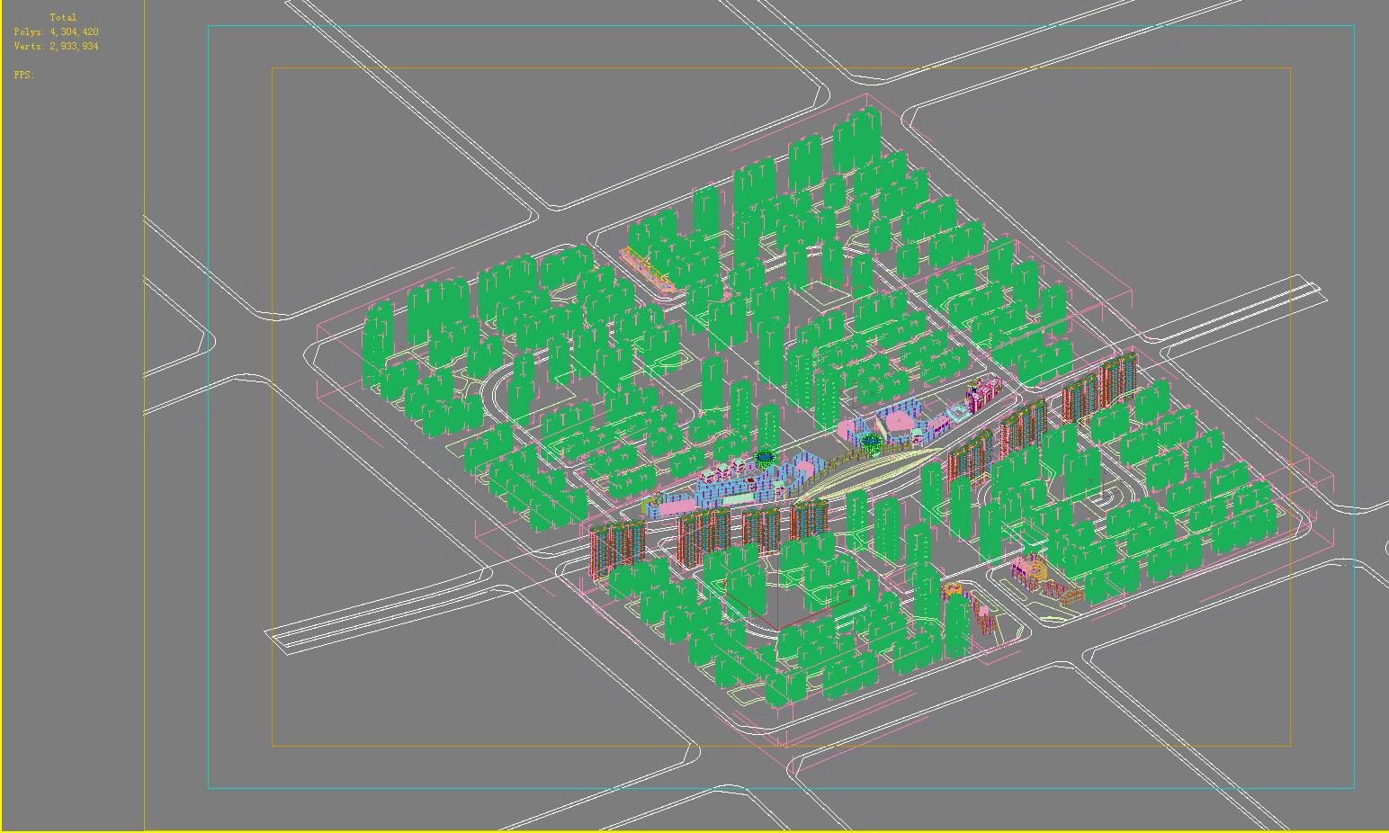 хот суурин газрын дизайн 103 3d загвар max psd 121476