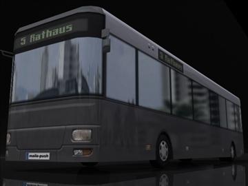 bus samhail 3d 3ds max obj 112106