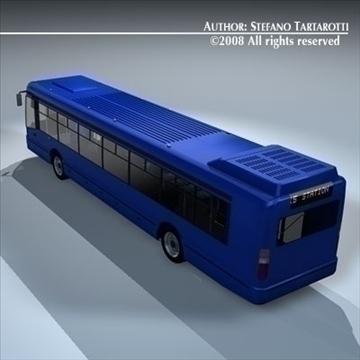 intercity bus 3d model 3ds dxf c4d obj 89186