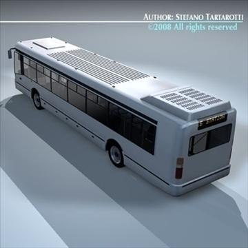 intercity bus 3d model 3ds dxf c4d obj 89187