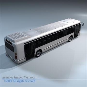 intercity bus 3d model 3ds dxf c4d obj 89188