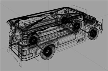 philippine jeepney 3d model 3ds lwo tiff obj other 97338