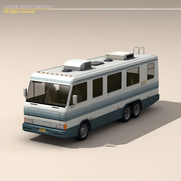 atpūtas transportlīdzeklis 3d modelis 3ds max dxf fbx c4d dae ma mb obj 124275