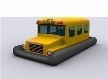 sarı məktəb avtobusu 3d model max 79366 gəmisi