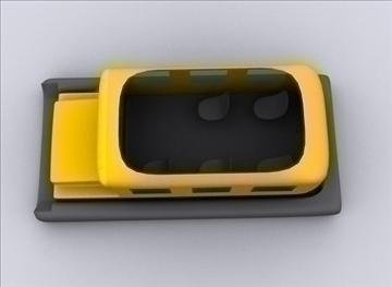 yellow school bus hover boat 3d model max 79367