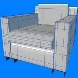 armchair white ( 69.79KB jpg by PrintF )