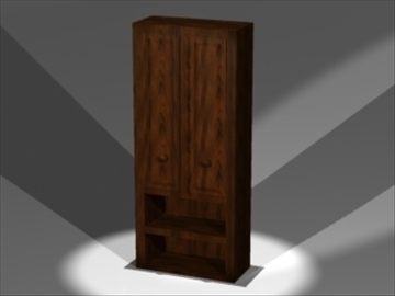 armoire 3d model 3ds dxf lwo 81027
