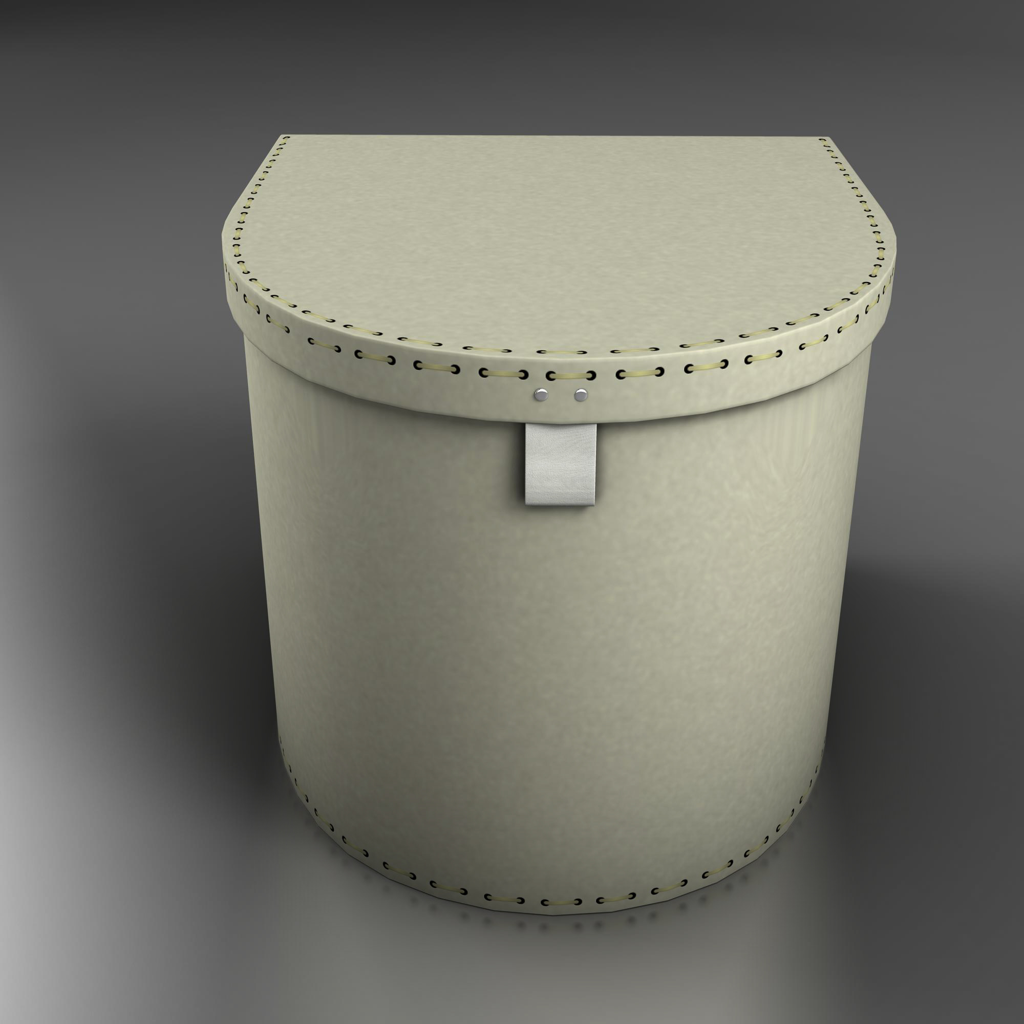 box two 3d model 3ds max fbx ma mb obj 157353