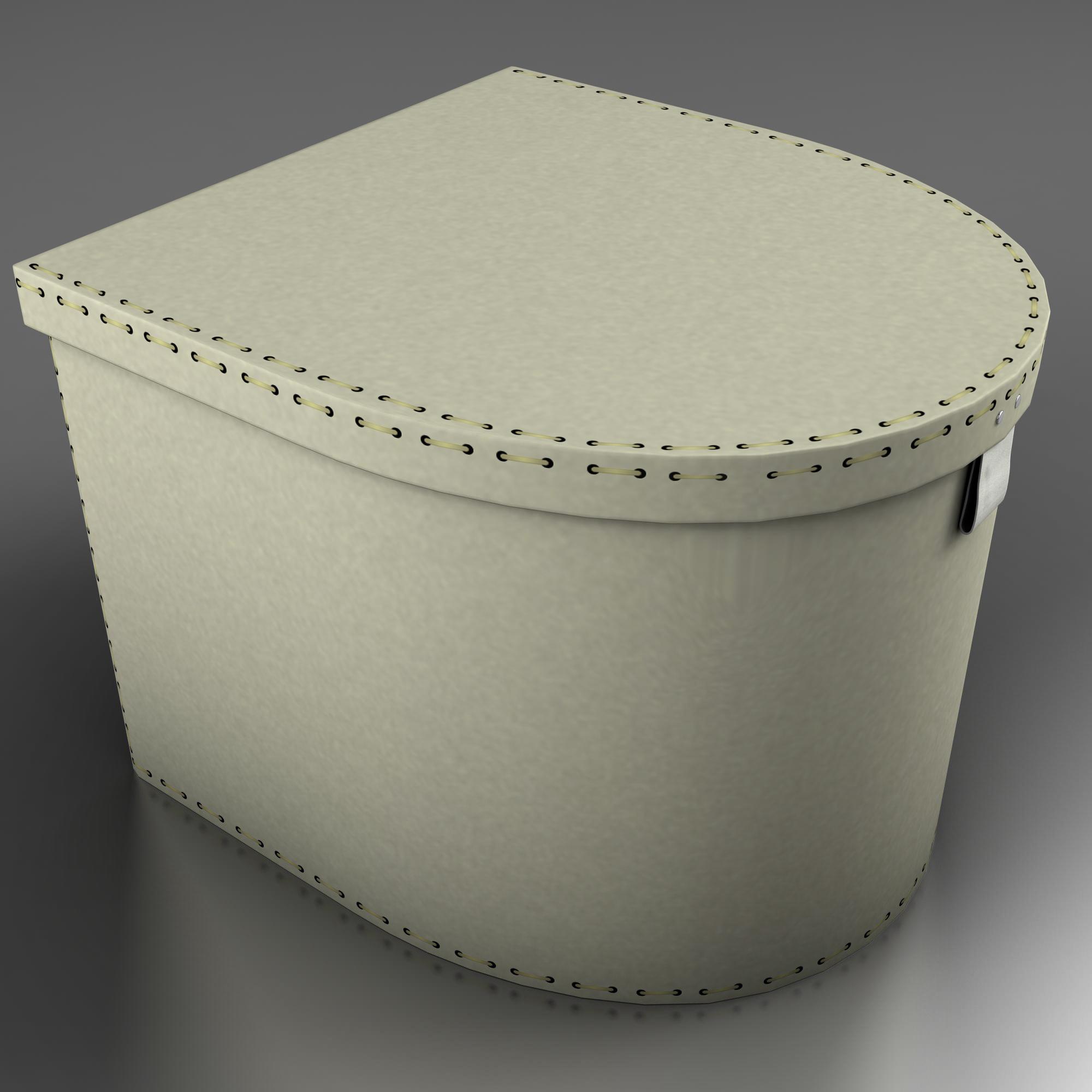 box two 3d model 3ds max fbx ma mb obj 157354