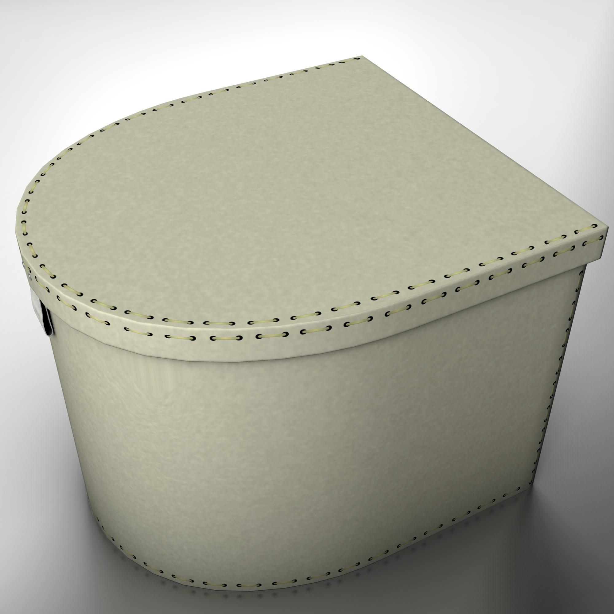 box two 3d model 3ds max fbx ma mb obj 157358