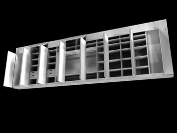 cabinet 3d model 3ds c4d 100832