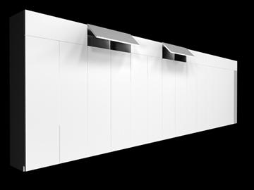 cabinet 3d model 3ds c4d 100834