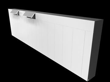 cabinet 3d model 3ds c4d 100835