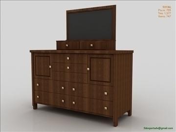 chest of drawers 3d model 3ds max fbx obj 106493