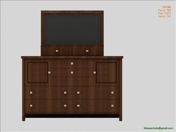 chest of drawers 3d model 3ds max fbx obj 106494