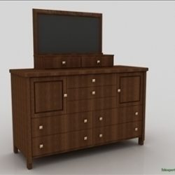 Chest Of Drawers ( 45.54KB jpg by 3dexpertadv )