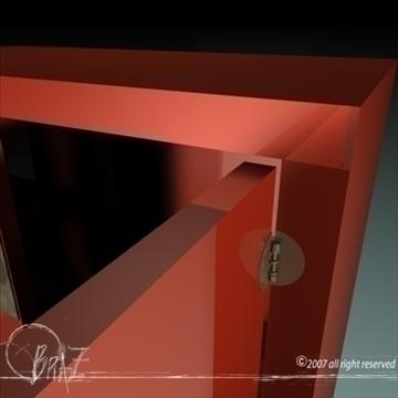 chinese closet 3d model 3ds dxf c4d obj 109182