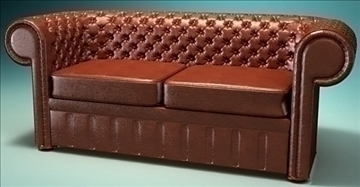divan chesterfield model 3d lwo 79345