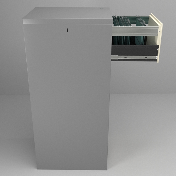 filing cabinet 3d model 3ds fbx skp obj 117772