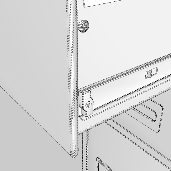 filing cabinet 3d model 3ds fbx skp obj 117774