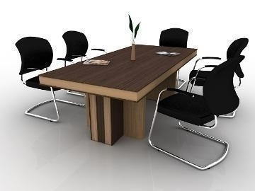 meeting table 3d model max 77171