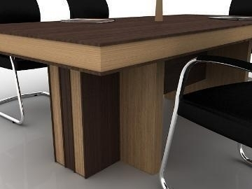meeting table 3d model max 77173