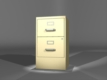 metal cabinet 3d model 3ds dxf lwo 81116