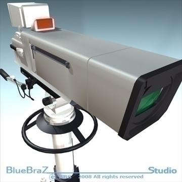 broadcast camera 3d model 3ds dxf c4d obj 89296