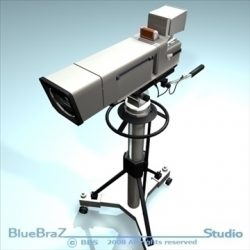Broadcast camera ( 62.42KB jpg by braz )
