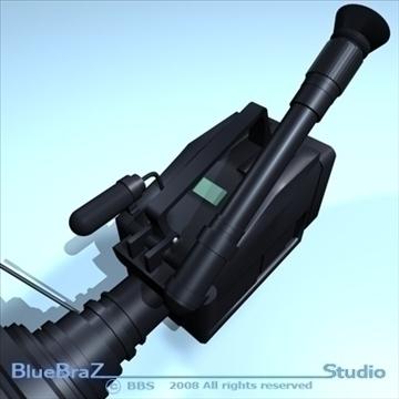 kamera 3d modelis 3ds dxf c4d obj 89364