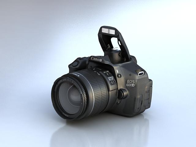 canon 600d 3d model max fbx obj 114085