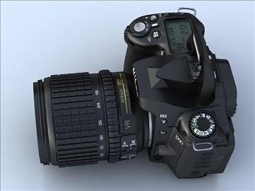 nikon d90 3d model 3ds max 105859