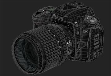 nikon d90 3d model 3ds max 105861