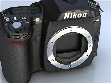 nikon d90 3d model 3ds max 105862