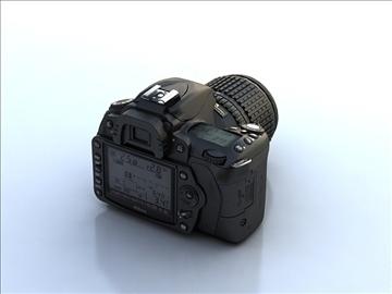 nikon d90 3d model 3ds max 105863