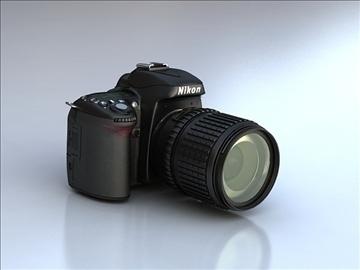 nikon d90 3d model 3ds max 105864