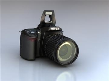 nikon d90 3d model 3ds max 105865